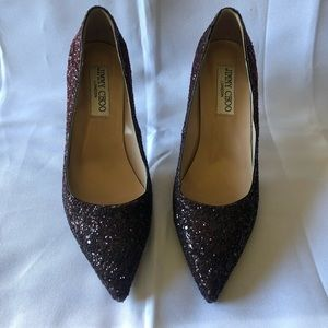 Glitter heels size 37 jimmy cho (see pictures)